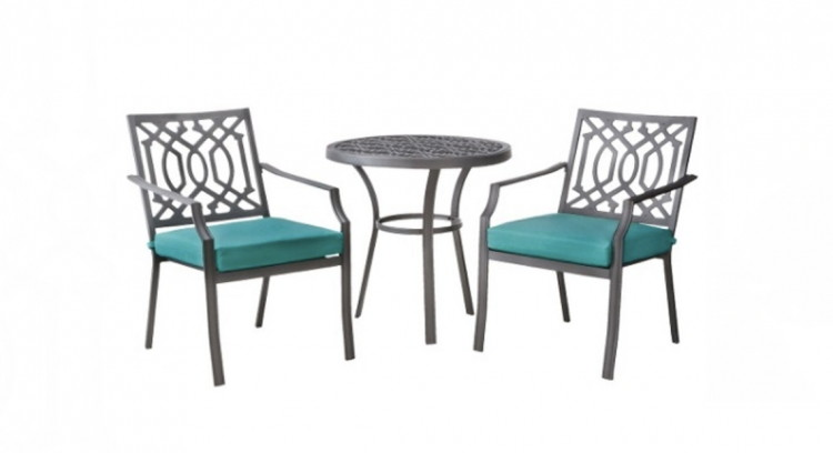 Buy 1 Harper 3 Piece Metal Patio Set ( Reg $229.99 ) $183.99, Sale Price  Through 6/24. Save 10% With Online Code SUNSHINE Save 5% With REDcard