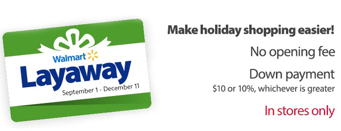 Walmart Holiday Layaway Is Coming Back! - The Krazy Coupon Lady