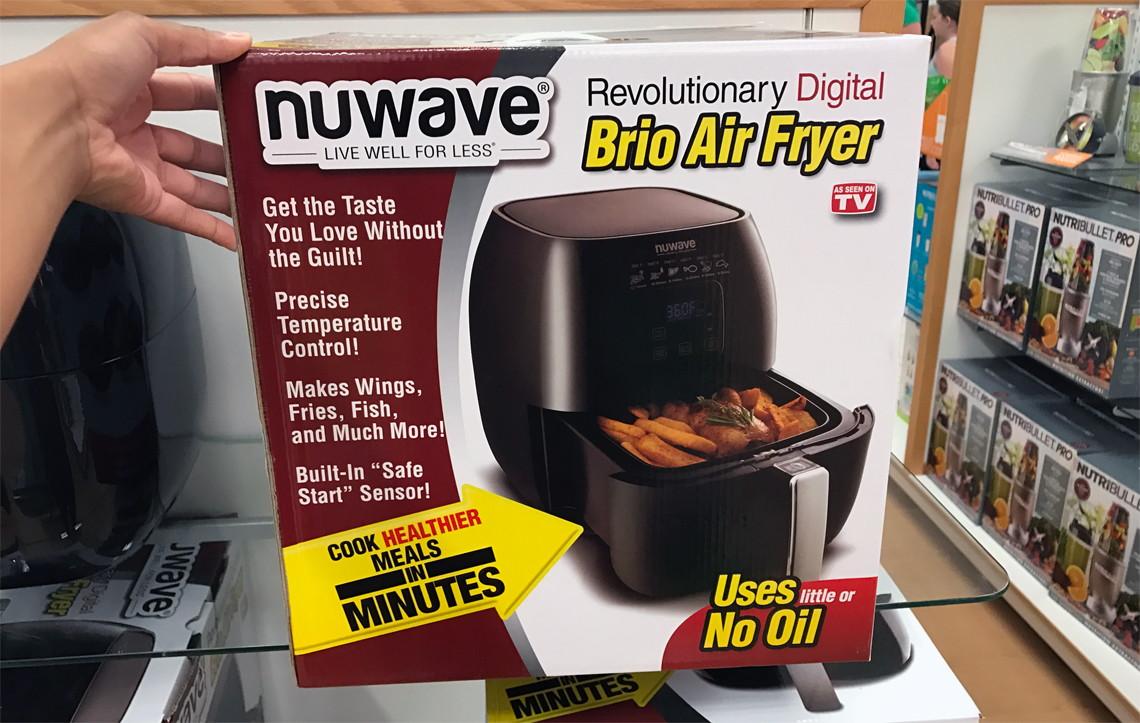 cardholder scenario - Nuwave Air Fryer