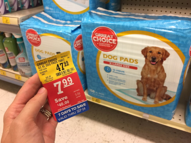 Top Paw 150-Count Dog Pads, Only $7.19 at Petsmart.com–Reg. $64.99!