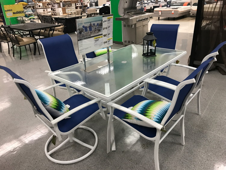 Or Garden Oasis Harrison 7 Piece Dining Set U2013 Blue (reg. $599.99) $359.99.  Use Code 15SPU To Get 15% Off Outdoor Living When You Buy ...