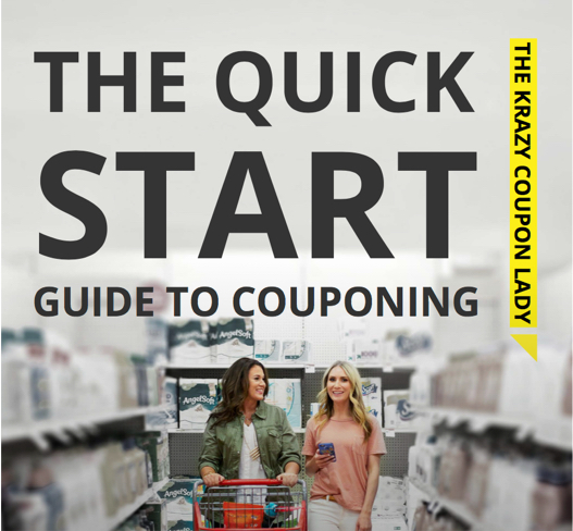 The Quick Start Guide to Couponing