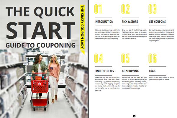 The krazy coupon lady shop smarter couponing and online deals 5 steps to get started fandeluxe Images