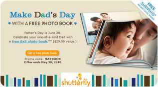 update not working for most free shutterfly photo book plus lots