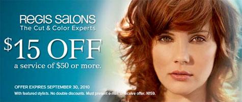How much are haircuts at regis salon om hair for 730 salon fredericksburg va