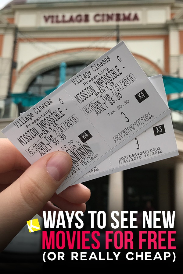 16 Ways to See New Movies for Free (or Really Cheap) - The