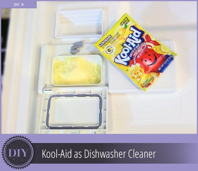 Superior DIY: Lemonade Kool Aid As Dishwasher Cleaner.