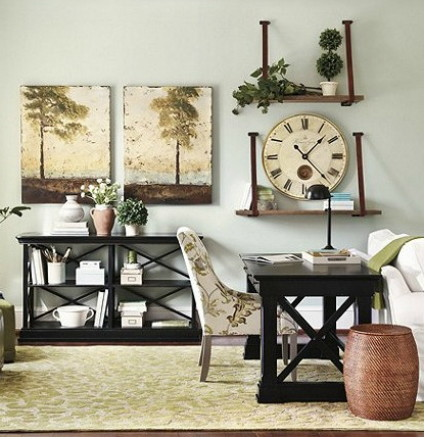 Ballard Designs Is A Leading Source For European Inspired Home Furnishing  And Décor. The Naomi Home Office Featured In Their Online Design Gallery  Features ...