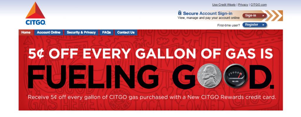 Save a Nickel on Every Gallon of CITGO Gasoline