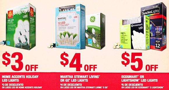 Christmas Light Coupon Home Depot
