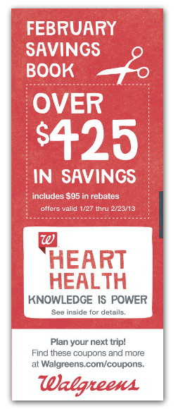 Walgreens February Savings Book - The Krazy Coupon Lady