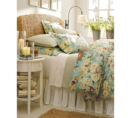Knockout Knockoffs: Pottery Barn Seagrass Bedroom