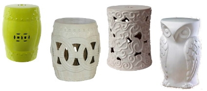 Ceramic Garden Stools. Thumbing Though The Latest Home Decor Magazines And  Inspiration Sites, I