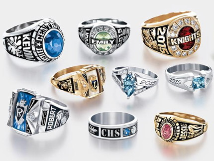 Class Ring Style Rings For Men