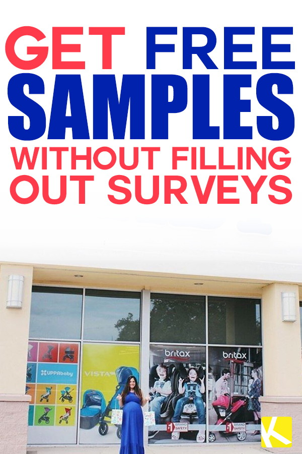 coupons free samples without surveys