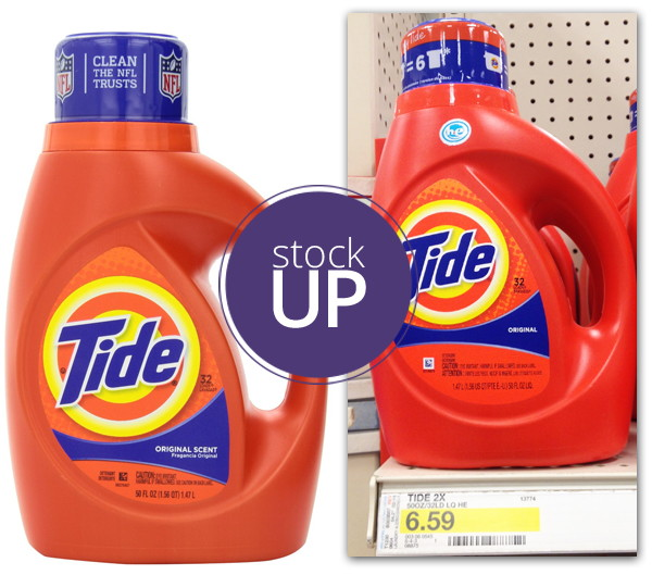 New Coupon! Tide Detergent, Only $3 53 at Target! - The Krazy Coupon