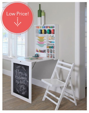 Delicieux Save 60% On Recollections Fold Down Craft Table!