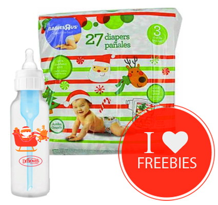 Free Dr. Brown's Christmas Bottle & Free Holiday Diaper Pack at ...