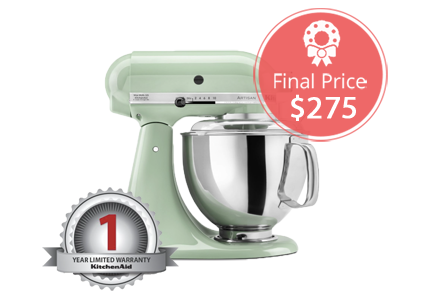 Excellent Kitchenaid Mixer Only At With Green