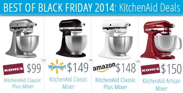 Best Kitchenaid Mixer Deals Black Friday 2014 The Krazy Coupon Lady