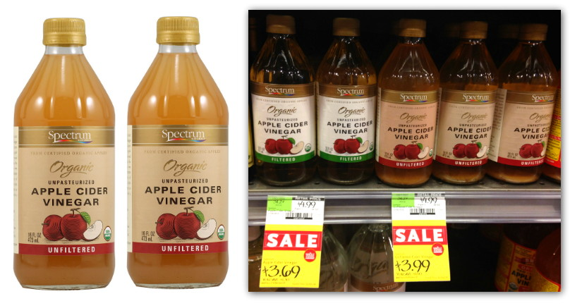 Free Spectrum Organic Apple Cider Vinegar At Whole Foods The