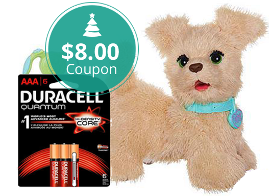 $8 00 Coupon! FurReal Friends GoGo Pup + Duracell Batteries