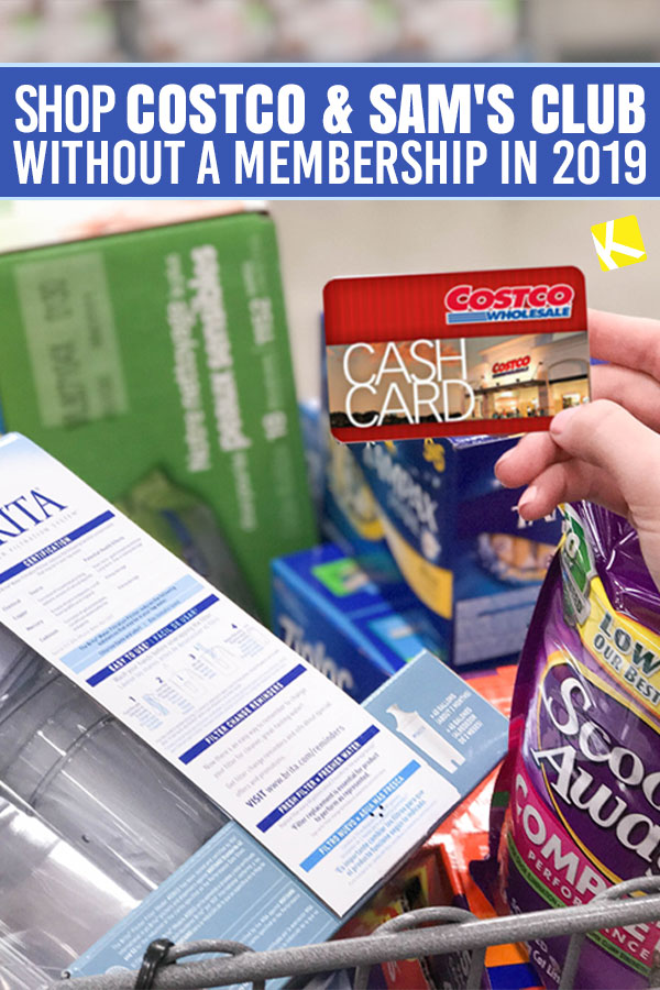 How to Shop Costco & Sam's Club Without Buying a Membership