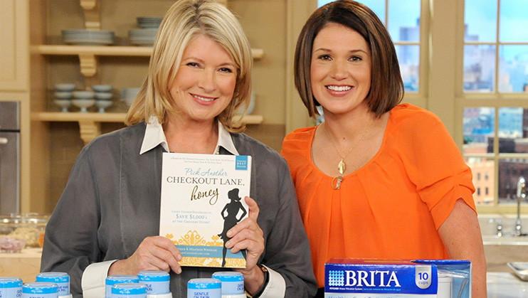Joanie with Martha Stewart