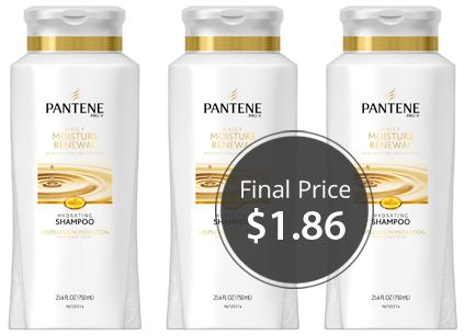 pantene shampoo large bottle only 1 86 shipped on amazon the