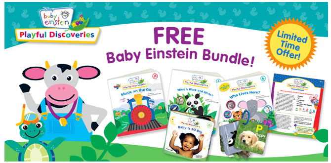 FREE Baby Einstein Bundle - Li...