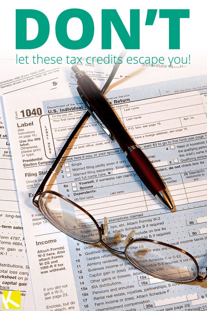 Don T Overlook These 2014 Tax Credits The Krazy Coupon Lady