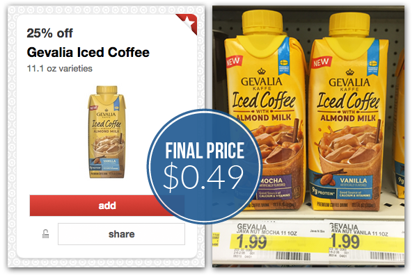 photograph about Gevalia Printable Coupon identified as Gevalia Iced Espresso, Simply $0.49 at Emphasis! - The Krazy