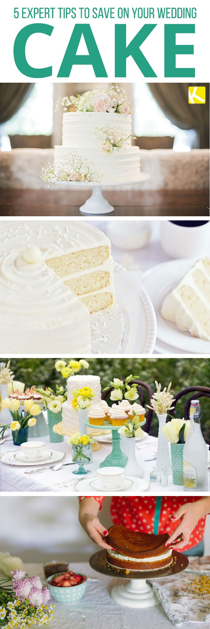 5 Expert Tips to Save on Your Wedding Cake - The Krazy Coupon Lady