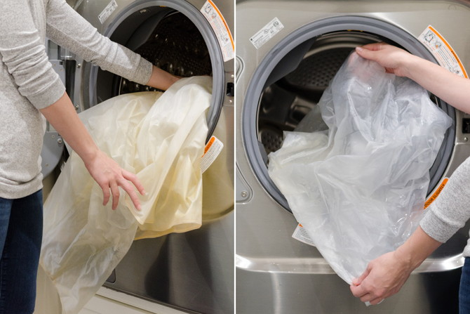 Clean Your Shower Curtain Liner In The Washing Machine. 11 Genius Tips To  Make Cleaning The Bathroom Easier Krazy - Washing Shower Curtains Crepeloversca.com