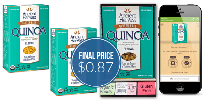 Ancient Harvest Quinoa Pasta, Only $0 87 at Winco! - The
