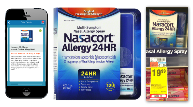 photograph relating to Nasacort Coupon Printable identify Nasacort Allergy Spray, Just $10.99 at CVS! - The Krazy
