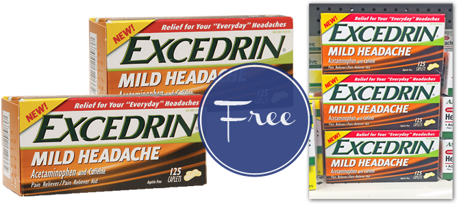 FREE Excedrin at Dollar Tree!
