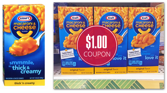2 More Prints! Kraft Macaroni & Cheese, $0.67 at Dollar Tree!