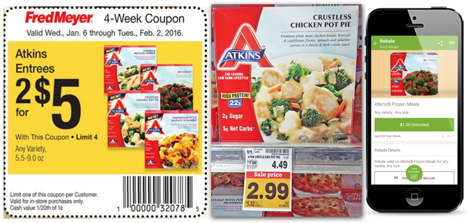 photograph relating to Atkins Coupon Printable referred to as Discount codes Promo Codes