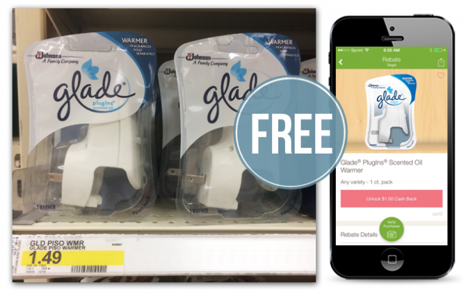 FREE Glade PlugIns Scented Oil...