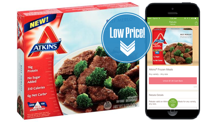 picture about Atkins Coupon Printable referred to as Atkins Food stuff Shakes, as Small as $1.48 at Walmart! - The