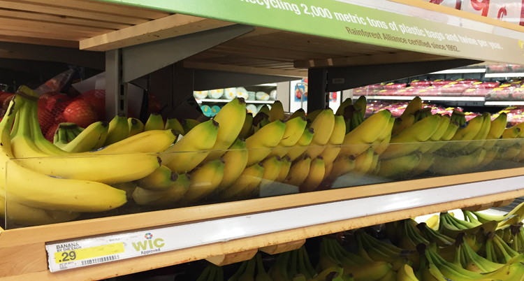 24¢ Money maker Bananas at Ta...