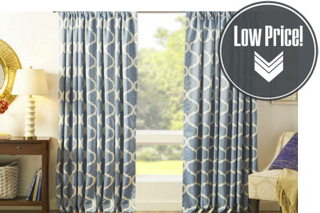 Curtains Starting at Under $10...