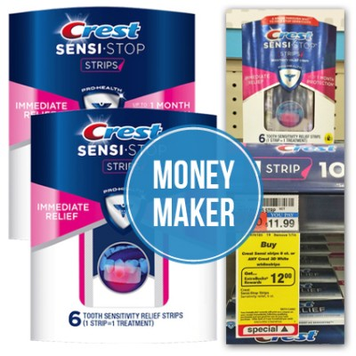 FREE Crest Sensi Strips at CVS...