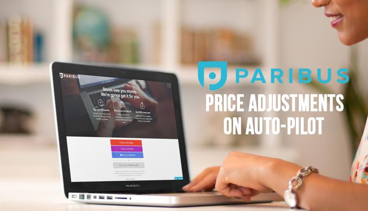 New! Paribus Gets You Price Ad...