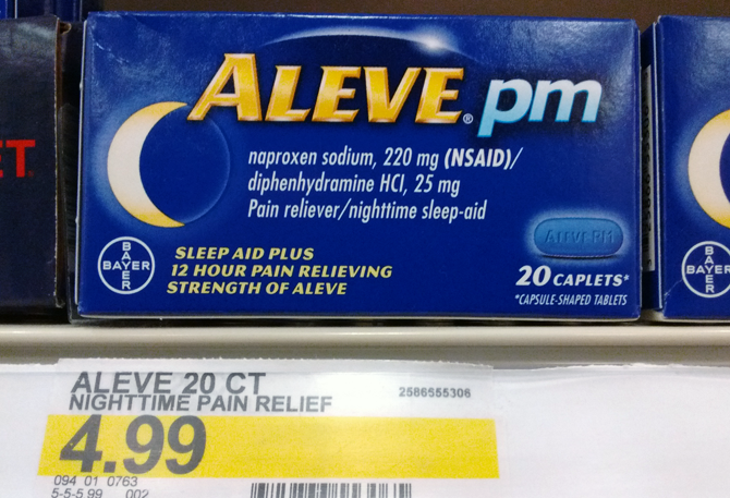 Aleve PM Only $1.74 at Target!