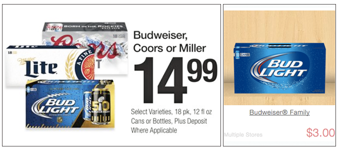 $3 00 Savings on Budweiser & Blue Moon Beer at Fred Meyer! - The