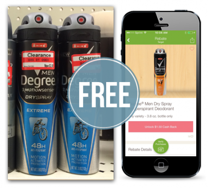 FREE Degree Dry Spray Deodoran...