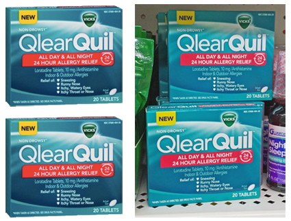 FREE Vicks QlearQuil at Dollar...