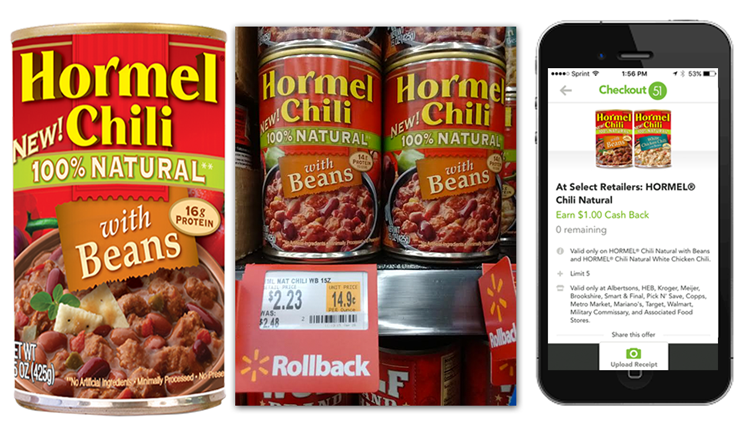 Hormel Chili Natural 23¢ at W...